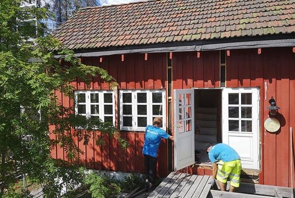 Totalrenovasjon av hytte, Oslo